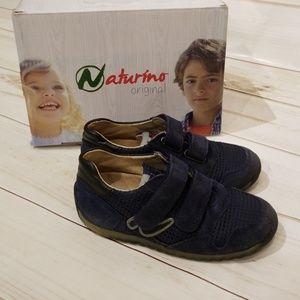 🛍SOLD🛍 Naturino Sammy suede Sneaker, Size 27